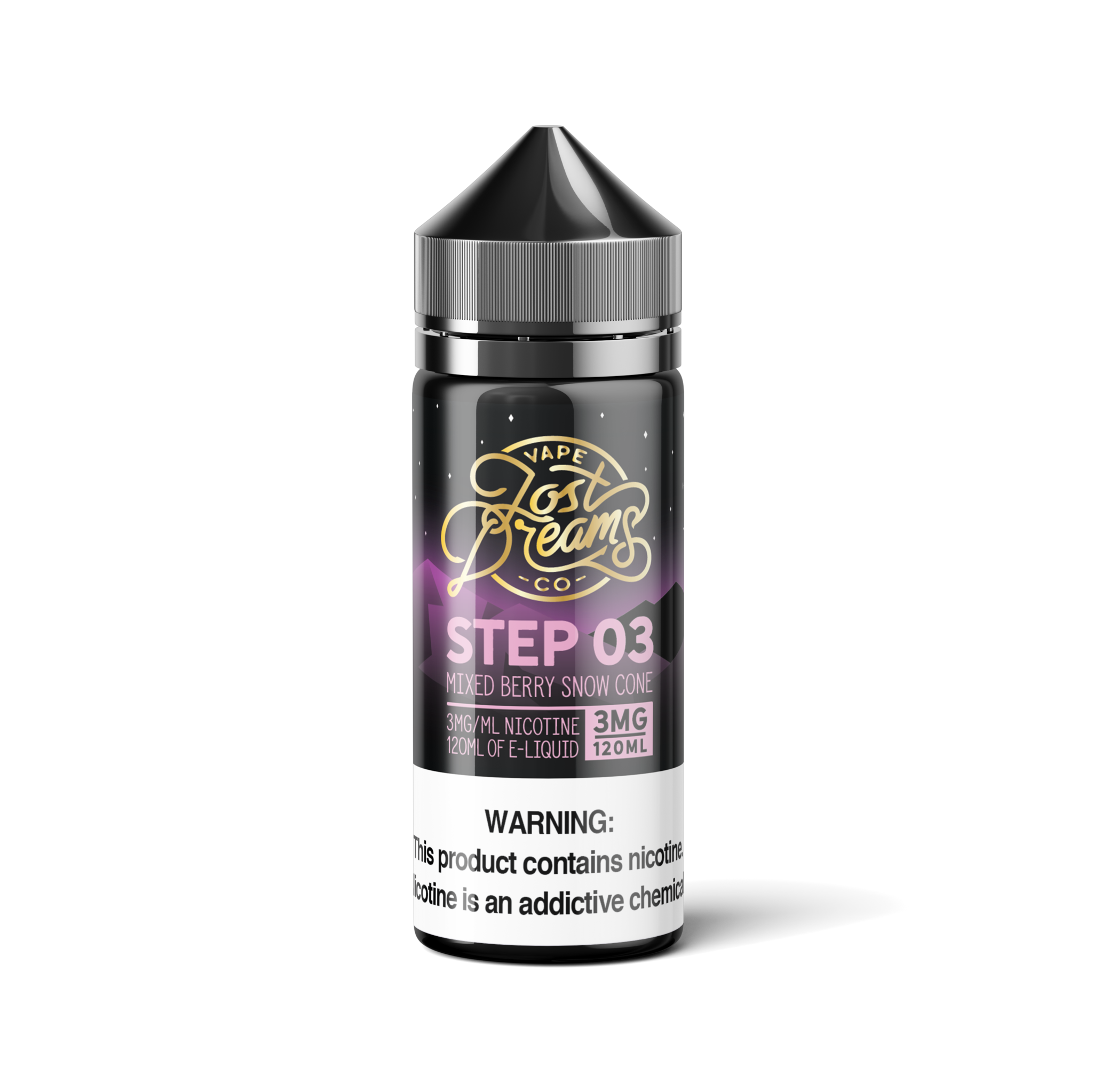 Lost Dreams Vape Co. - Step 03 (Mixed Berry Snow Cone)