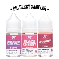 RTV Big Berry E-Liquid Sampler 90ml