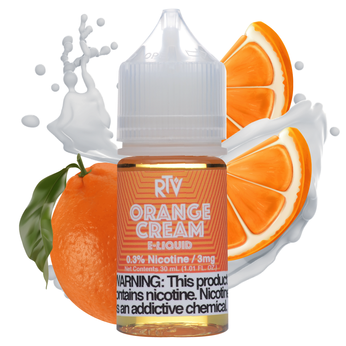e-Liquid Orange Cream 12mg Only