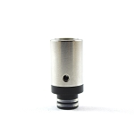Stainless Airflow Wide Bore Drip Tip - 510